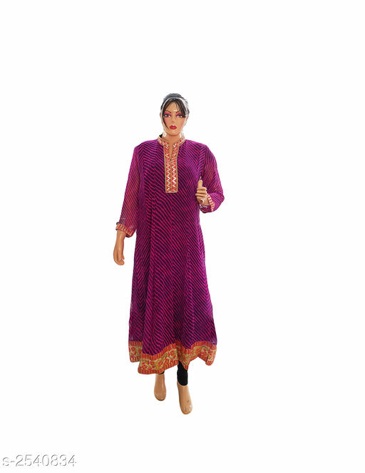 Kurtis & Kurtas Elegant Style Printed Kurti  *Fabric* Georgette  *Sleeves* 3/4 Sleeve Are Included  *Size* XL- 42 in  *Length* Up To 48 in  *Type* Stitched  *Description* It Has 1 Piece Of Women's Kurti  *Work* Printed  *Sizes Available* XL   Supplier Rating: ★3.9 (359) SKU: Kurti---4025  Free shipping is available for this item. Pkt. Weight Range: 300  Catalog Name: Allure Elegant Style Printed Kurtis vol 8 - Ard Fashion Code: 019-2540834--