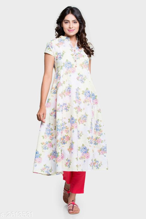 Kurta Sets Trendy Women's Kurta Set  *Fabric* Kurti - Cotton, Bottom- Cotton  *Sleeves* Sleeves Are Included  *Size* Kurti - S - 35 in, M - 37 in, L - 40 in, Bottom- S - 28 in, M - 30 in, L - 32 in  *Length* Kurti - Up To 40 in, Bottom - Up To 38 in  *Type* Stitched  *Description* It Has 1 Piece Of Women's Kurti With 1 Piece Of Women's Bottom  *Work* Kurti - Printed, Bottom - Solid  *Sizes Available* S, M, L   SKU: FP001 Free shipping is available for this item. Pkt. Weight Range: 400  Catalog Name:  Fahmida Trendy Women's Kurta Set Vol 1  - PINKSKY DESIGNS PRIVATE LIMITED Code: 1253-2613531--