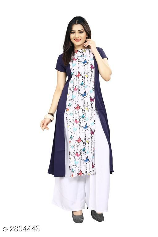 Kurtis & Kurtas American Crepe Women's Kurti  *Fabric* American Crepe  *Sleeves* Sleeves Are Included  *Size* S - 36 in, M - 38 in, L - 40 in, XL - 42 in, XXL - 44 in  *Length* Up To 44 in  *Type* Stitched  *Description* It Has 1 Piece Of Women's Kurti  *Work* Printed  *Sizes Available* S, M   Supplier Rating: ★3.9 (6043) SKU: 62 Shipping charges: Rs49 (Non-refundable) Pkt. Weight Range: 300  Catalog Name: Carissa American Crepe Women's Kurtis Vol 17 - Crepe wali Kurtis Code: 992-2804443--