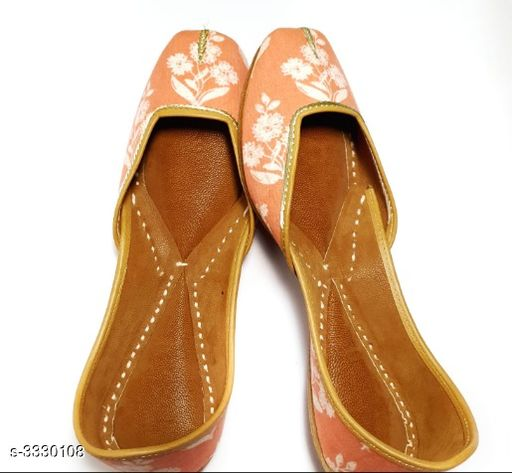 Juttis & Mojaris Women's Stylish Fancy Juti  *Material* Outer- Cotton , Inner - Faux Leather  *IND Size* IND - 3  *Description* It Has 1 Pair of Women's Jutis  *Sizes Available* IND-8, IND-3, IND-4, IND-5, IND-6, IND-7   Supplier Rating: ★3.1 (26) SKU: VMF005 Free shipping is available for this item. Pkt. Weight Range: 300  Catalog Name: Women's Stylish Fancy Jutis Vol 1 - BHAVYA Outfit Code: 919-3330108-9912-