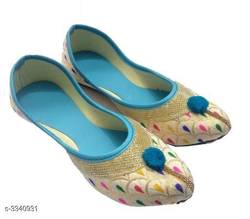 Juttis & Mojaris Attractive Fancy Synthetic Foam Juttis  *Material* Outer - Synthetic Foam , Sole - PVC  *IND Size* IND-3, IND-4, IND -5, IND - 6, IND -7, IND -8  *Description* It Has 1 Pair of Women's Juttis  *Sizes Available* IND-8, IND-3, IND-4, IND-5, IND-6, IND-7   SKU: 6 Shipping charges: Rs1 (Non-refundable) Pkt. Weight Range: 300  Catalog Name: Women's Attractive Fancy Synthetic Foam Juttis  - MOJARI ART & HANDICRAFT Code: 891-3340931--262