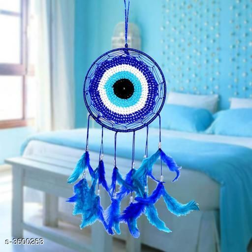 Other Home Decor Stylish Classic Traditional Home Decor  *Material* Metal , Beads & Feather.    *Size (H x W)* 70 cm x 15 cm  *Description* It Has 1 Piece Of Dream Catcher  *Sizes Available* Free Size   Supplier Rating: ★3.8 (1219) SKU: dream-ketcher Shipping charges: Rs49 (Non-refundable) Pkt. Weight Range: 200  Catalog Name: Stylish Classic Traditional Home Decors Vol 9 - ATC KURTIS Code: 053-3600263--
