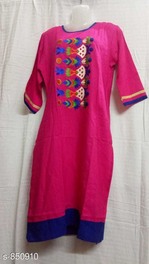 Kurtis & Kurtas Designer Party Wear Kurti  *Fabric* Rayon  *Sleeves* 3/4th Sleeves Are Included  *Size* M - 38 in, XL - 42 in, XXL - 44 in  *Length* Up To 52 in  *Type* Stitched  *Description* It Has 1 Piece Of Kurti  *Work* Printed  *Sizes Available* M, L, XL, XXL   SKU: kkc017 Free shipping is available for this item. Pkt. Weight Range: 300  Catalog Name: Mayrana Designer Party Wear Kurtis Vol 6 - KKF Kurti Code: 094-850910--