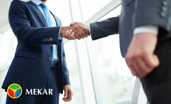 Investor Hand Shaking