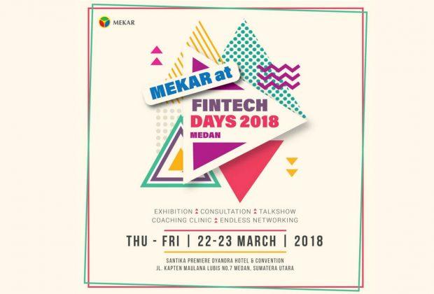 Mekar at Fintech Days 2018 Medan