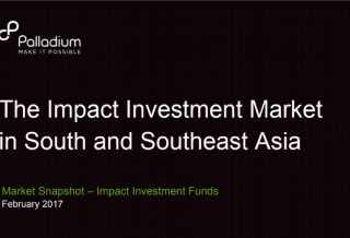 The Impact Investment Market in South and Southeast Asia
