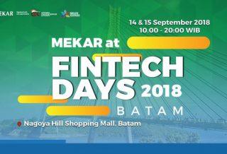 OJK Fintech Days 2018 Batam