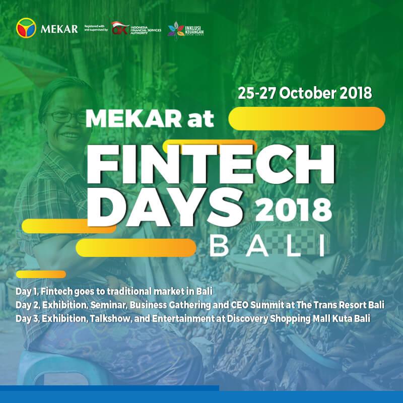 OJK Fintech Days 2018 Bali