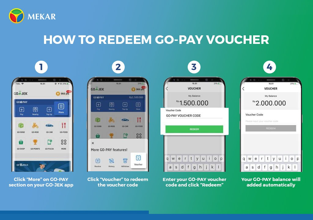 How To Redeem Promo GOPAY + Cashback Decemer 2018