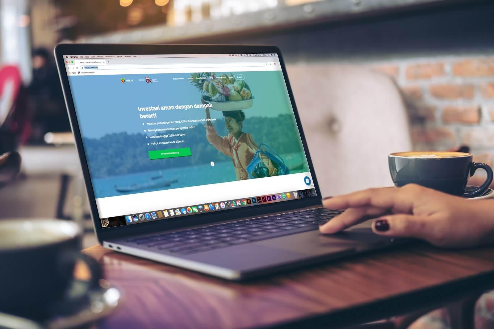 Tampilan Baru Website Mekar