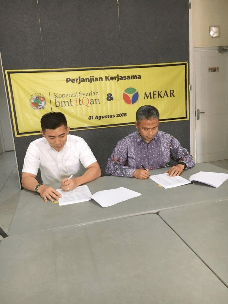 Cooperation Inauguration Between Mekar and BMT ItQan