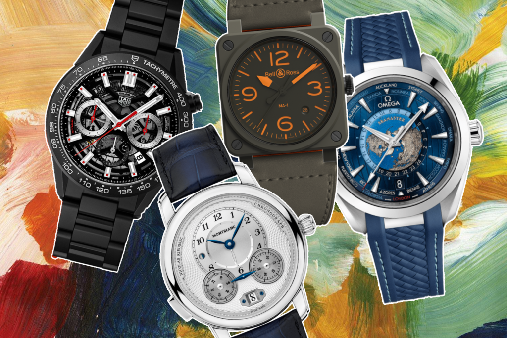 4 must have coloured-watches to elevate your wrist