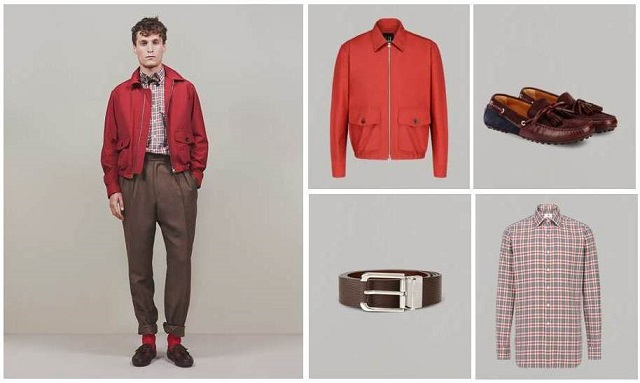 Dunhill SS16 Leather & Woven Outerwear Draws From Racing