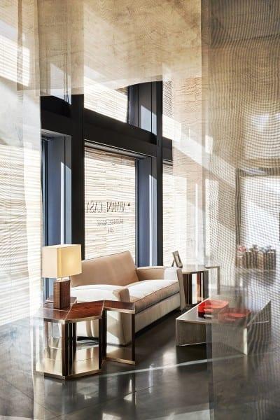 Milan Furniture Fair Light At Play With Armani Casa Men