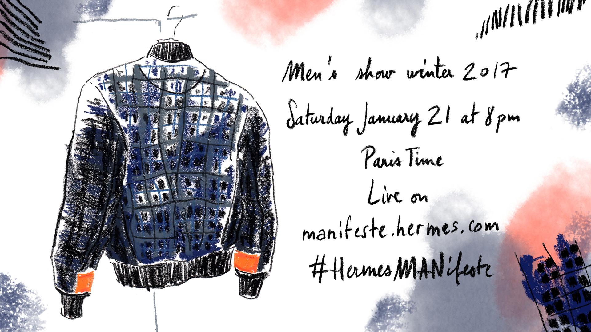 Livestream Catch Hermès Fw 2017 Show Live From Paris