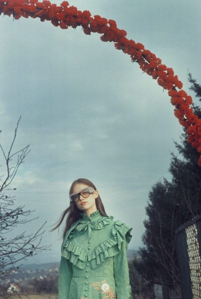 a731d7c1615 Petra Collins Paints A Hungarian Dreamscape For Gucci Eyewear this ...