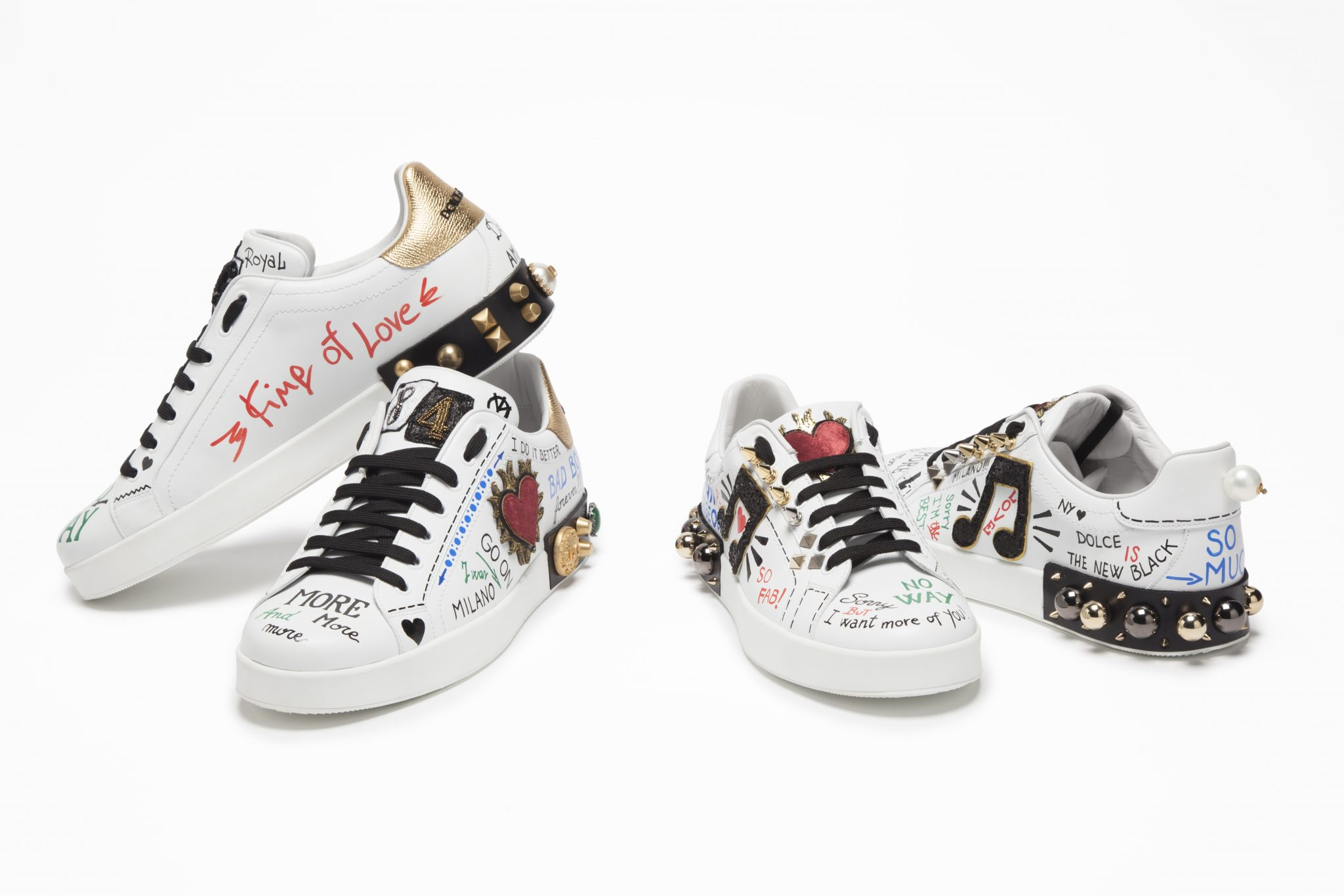 Dolce & Gabbana Releases New Sneakers for Spring/Summer ...