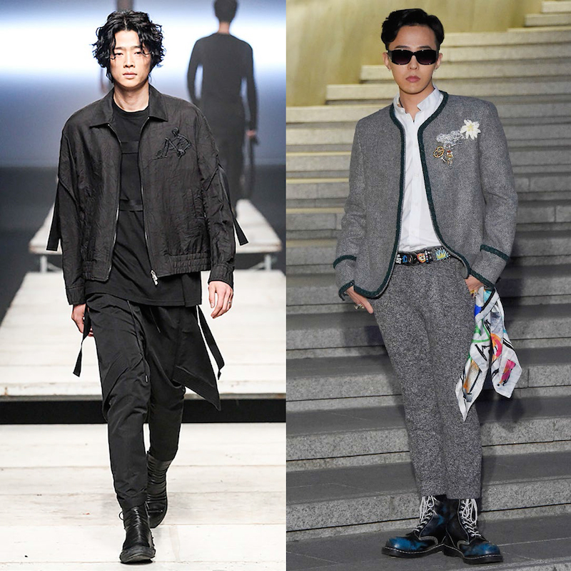 From left to right: D.Gnak, G-Dragon