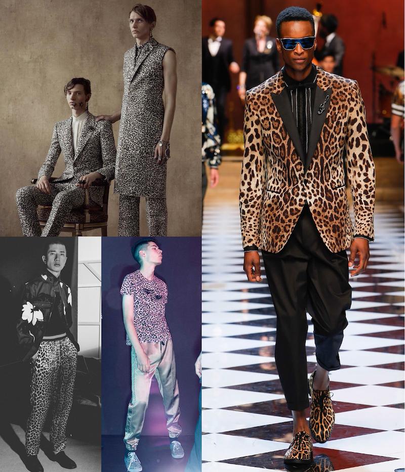 Clockwise from top left: Alexander McQueen, Dolce & Gabanna, Marc Jacobs, 3.1 Philip Lim