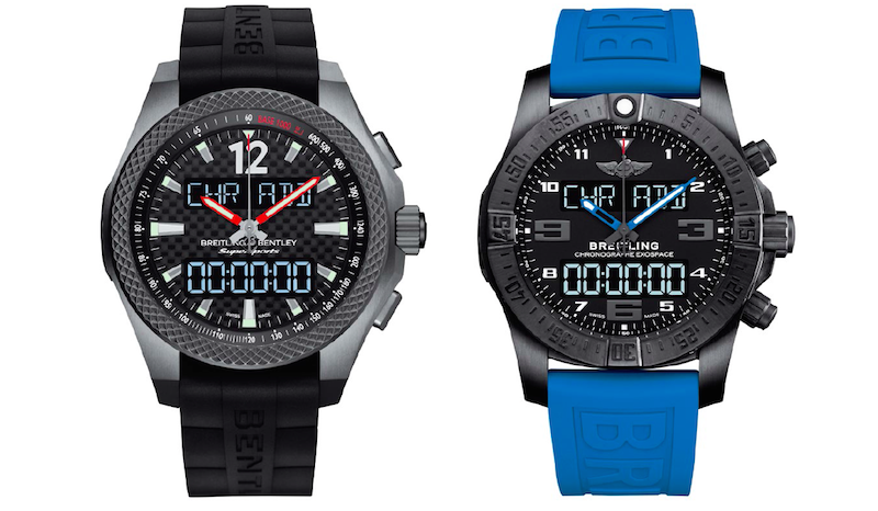 Breitling for Bentley Supersports B55 and Breitling Exospace B55