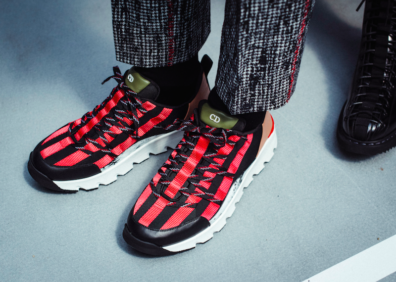 Sneakers from Dior Homme's Summer 2017 collection. Photography by Morgan O'Donovan