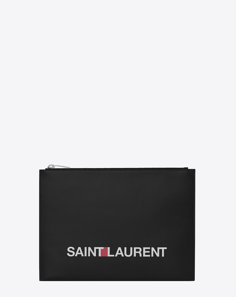 A new Saint Laurent logo has been introduced