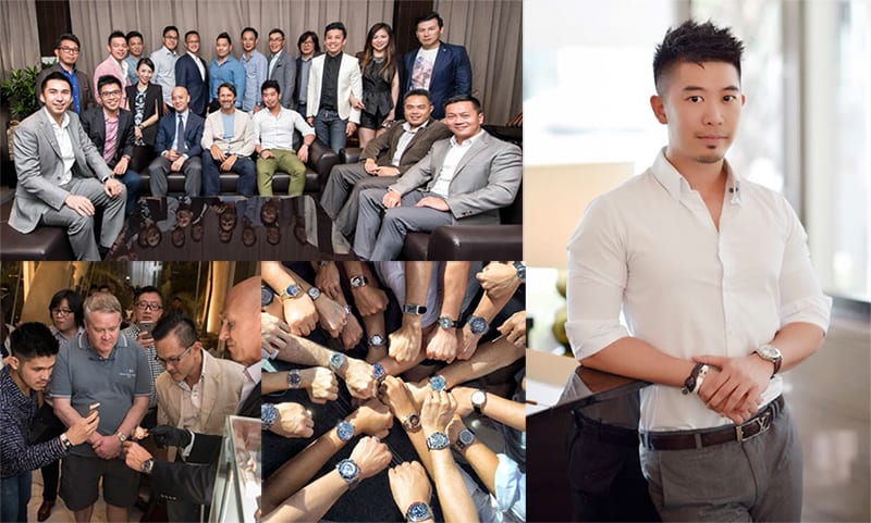 Singapore Watch Club and Founder Tom Chng