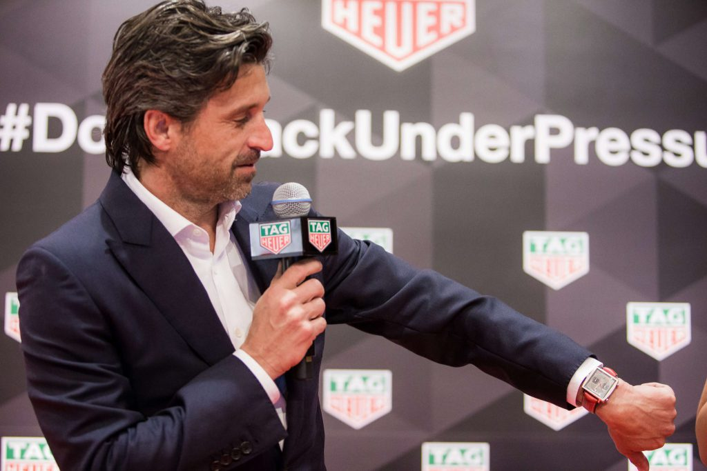 Tag Heuer Event Recap Patrick Dempsey And Max Verstappen Launch