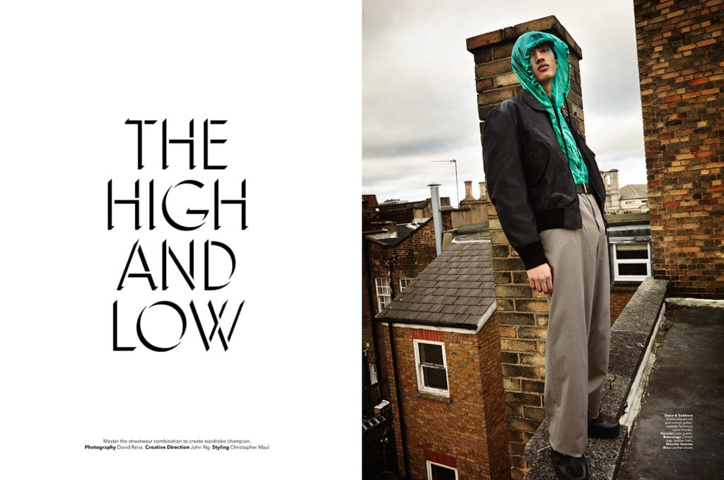 Video Behind The Scenes Of High And Low Fashion Editorial