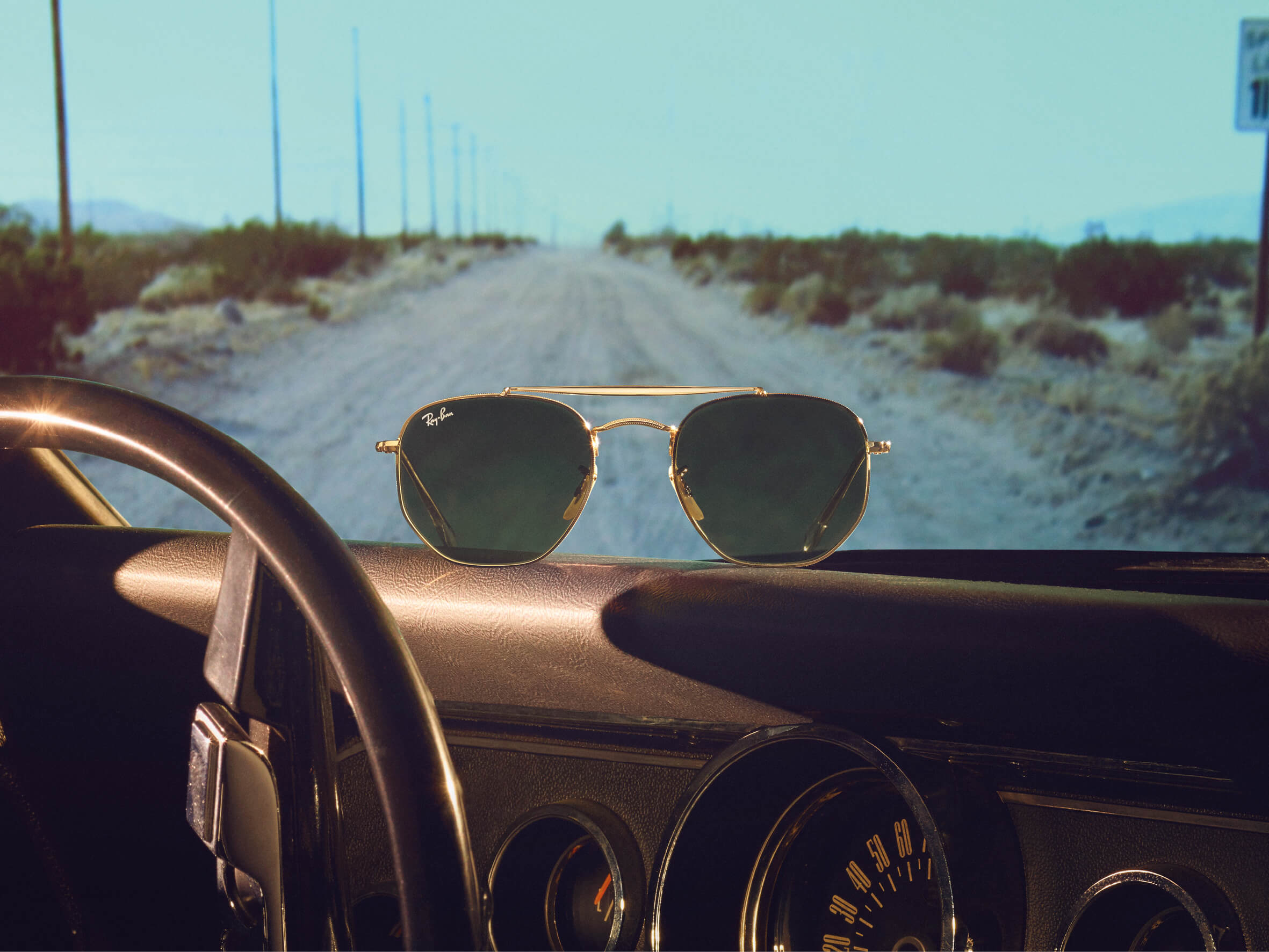 1d1a99cb4fc01 Chase the Horizon in Ray-Ban s New Campaign - Men s Folio
