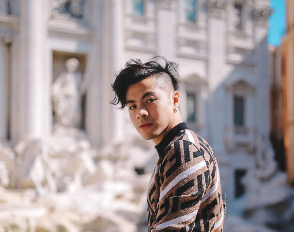 A Day in Fendi's Rome with Benjamin Kheng