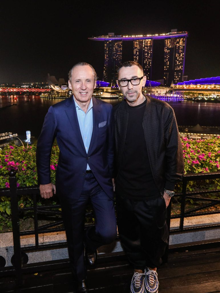 3fa80a446ee0c Alessandro Sartori, Artistic Director of Ermenegildo Zegna, at Singapore  Grand Prix 2018