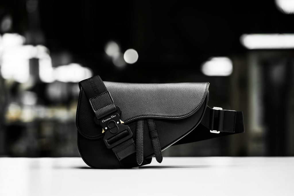 EXCLUSIVE: Buckle up for Dior Men's Saddle Bag