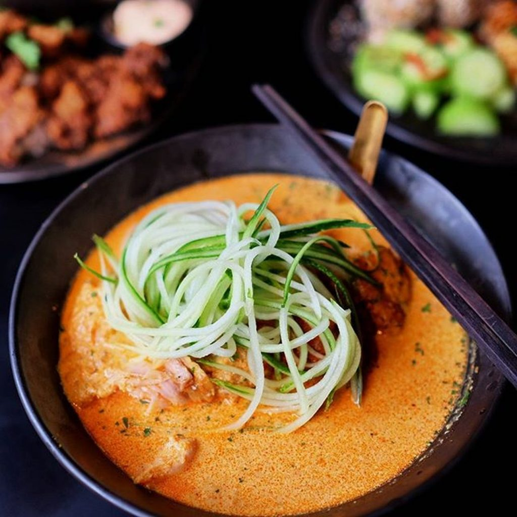 Elevated Singaporean Hawker Dishes