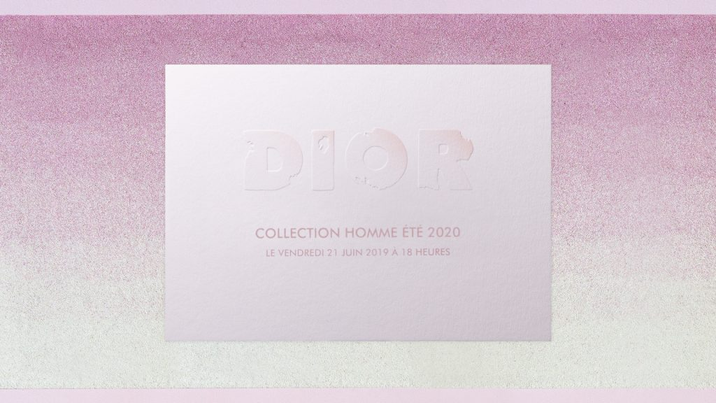 LIVESTREAM: Dior Men's Spring/Summer'20 Fashion Show