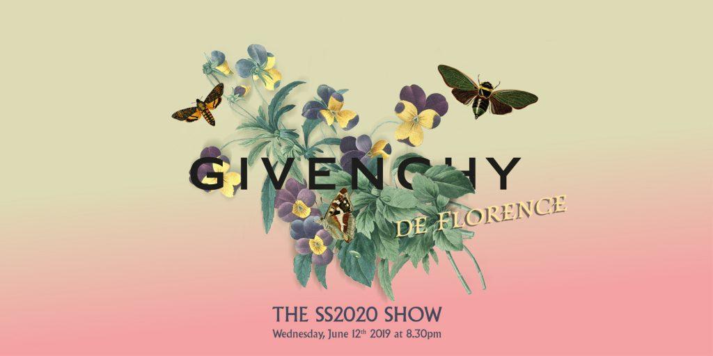 LIVESTREAM: Givenchy Men Spring/Summer'20 Show