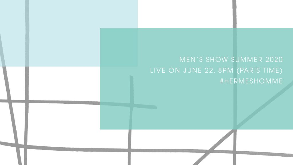 LIVESTREAM: Hermès Spring/Summer'20 Fashion Show
