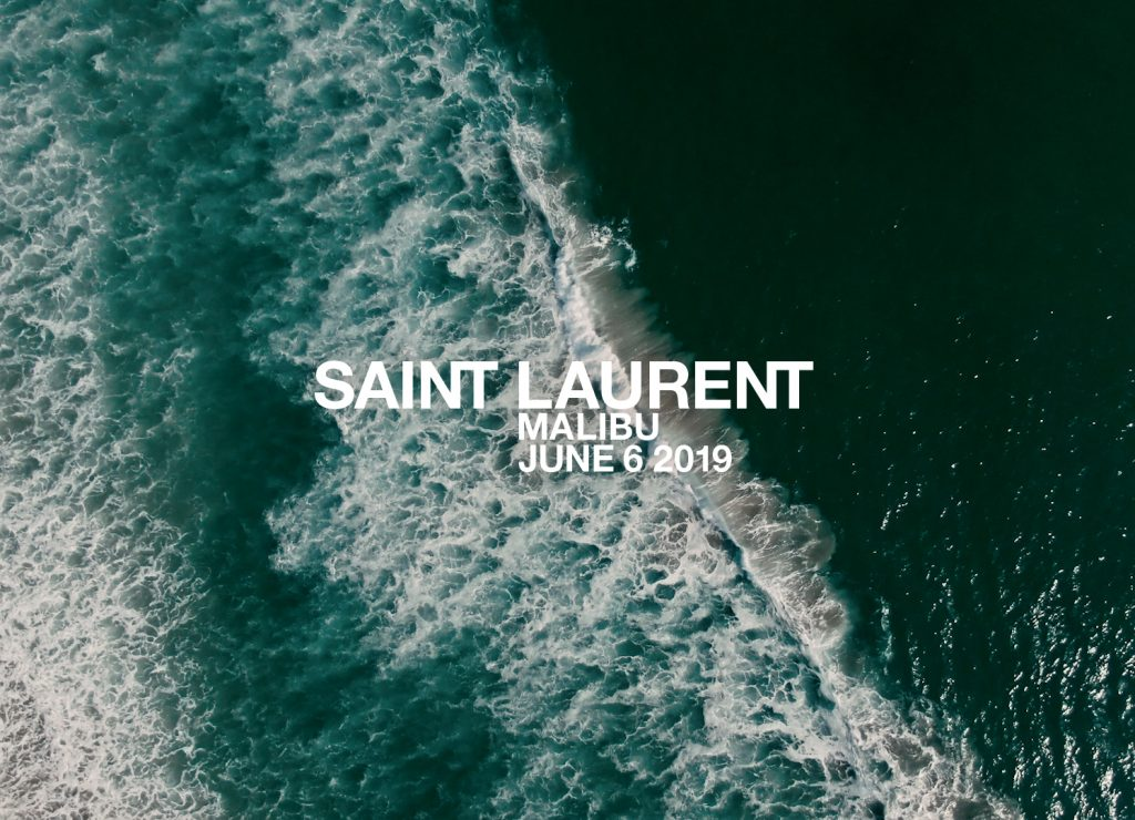 LIVESTREAM: Saint Laurent Malibu Spring/Summer'20