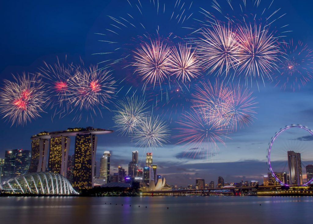 Best Restaurants and Bars to catch National Day Fireworks at