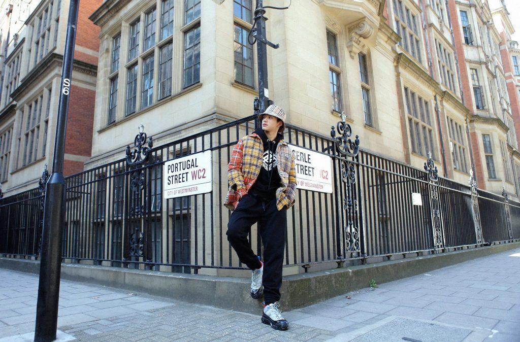 #ManCrushMonday — SuperM Lucas Wong's Triple Burberry Fit