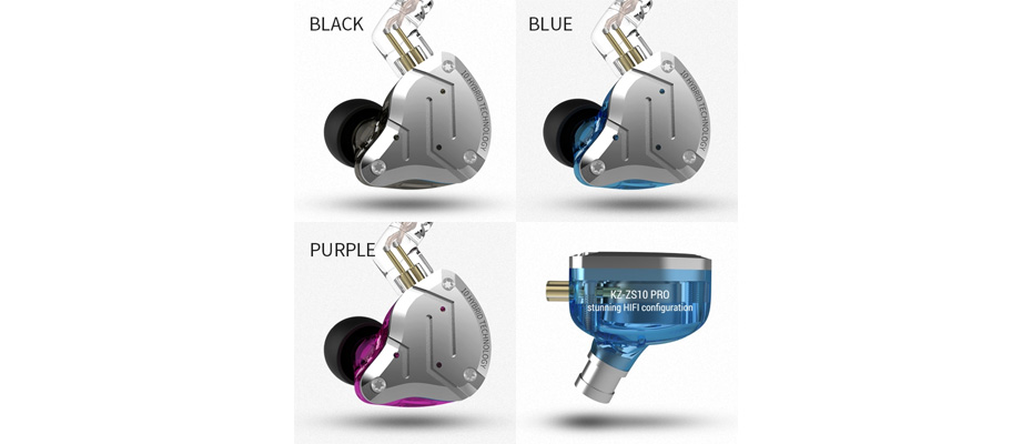 หูฟัง KZ ZS10 Pro In-Ear ราคา