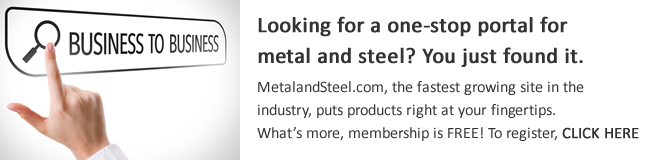 Need a one-stop portal for metal and steel? You got it.