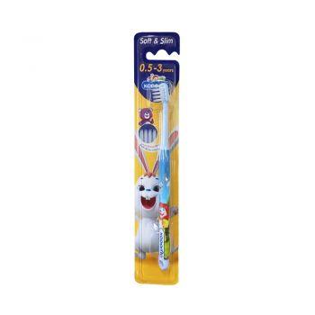 KODOMO แปรงสีฟัน โคโดโม  Soft & Slim 0.5-3 ปี