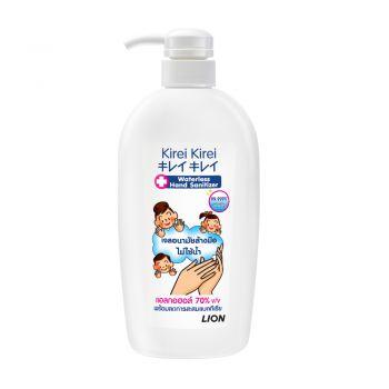 KIREI KIREI เจลล้างมือ คิเรอิคิเรอิ แอลกอฮอล์ 70% ไม่ใช้น้ำ 500 มล.(ชนิดขวดปั๊ม)