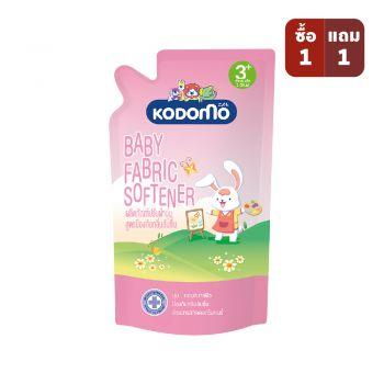 KODOMO น้ำยาปรับผ้านุ่มเด็ก โคโดโม สูตรป้องกันกลิ่นอับชื้น 600 มล.