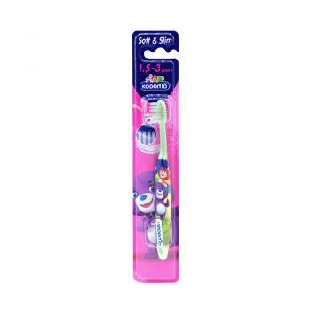 KODOMO แปรงสีฟัน โคโดโม (ซอฟต์ & สลิม) 1.5-3 ปี
