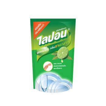 Lipon F ผลิตภัณฑ์ล้างจาน ไลปอน กลิ่นชามะนาว (ชนิดเติม) 500 ml