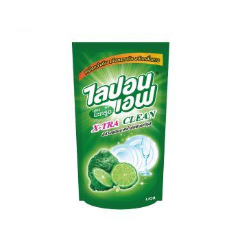 Lipon F ผลิตภัณฑ์ น้ำยาล้างจาน ไลปอน เอฟ สูตรมะกรูด ขจัดคราบมัน และ กลิ่นคาว (ชนิดเติม) 500 ml