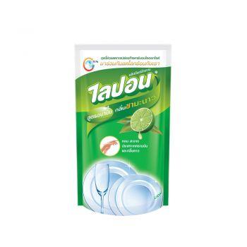 Lipon F ผลิตภัณฑ์ น้ำยาล้างจาน ไลปอน กลิ่นชามะนาว (ชนิดเติม) 500 ml