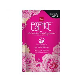 ESSENCE ผลิตภัณฑ์ ปรับผ้านุ่ม เอสเซ้นซ์ สูตรเข้มข้น กลิ่น Innocent Freesia (ชมพู) 600 มล. (ชนิดถุง)